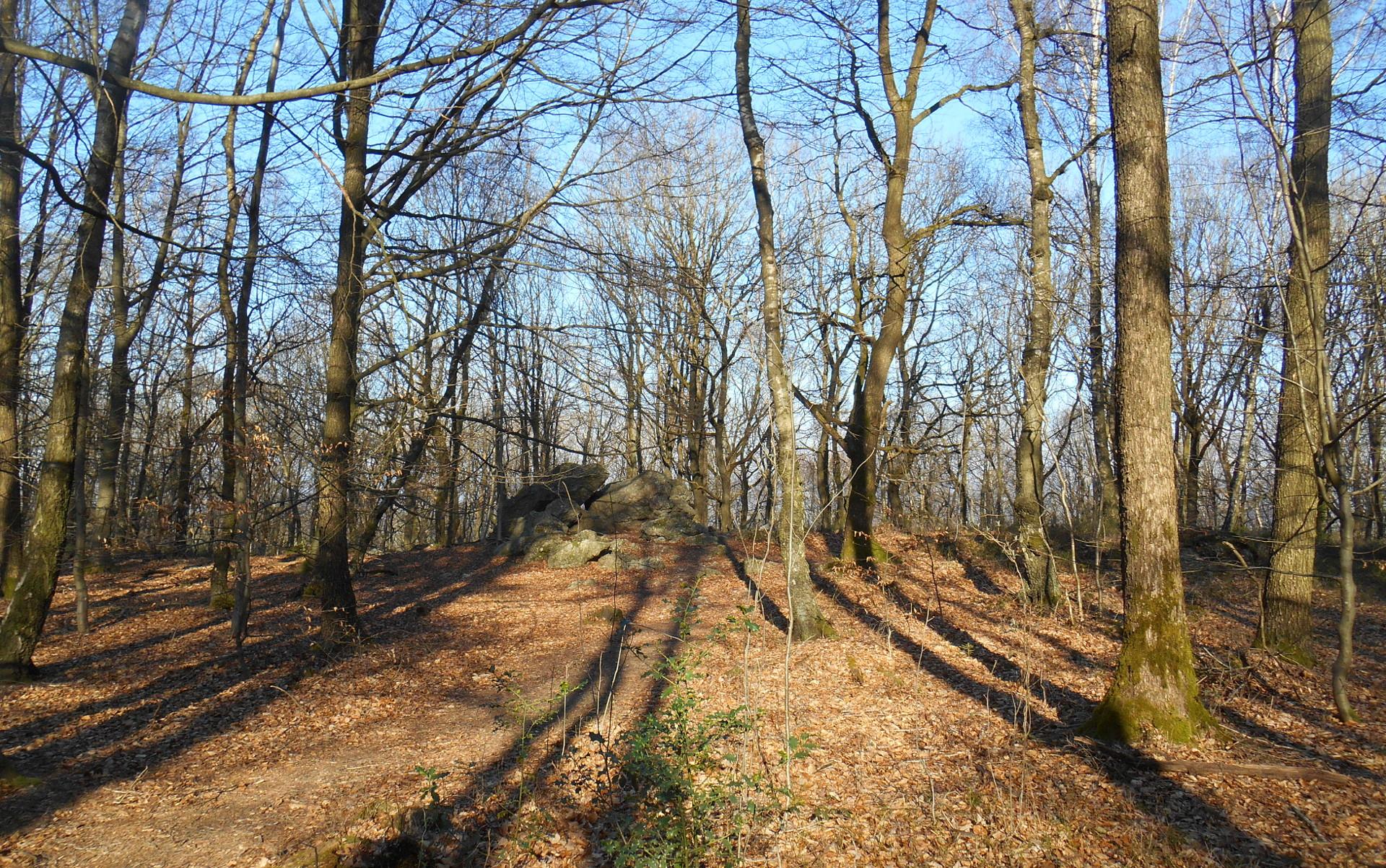 chemin de la promenade les pierres de légende à Wéris-Durbuys